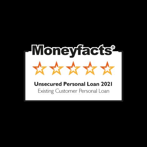 Moneyfacts 5 star rating logo