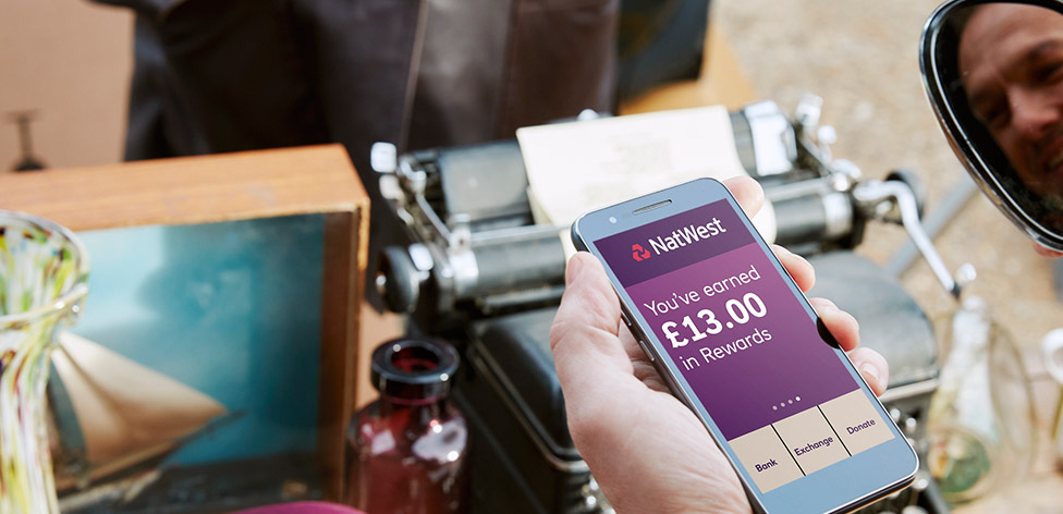 Household bills Reward Calculator | MyRewards NatWest